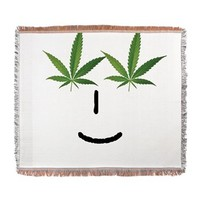Pot Head Emote Woven Blanket> The Pot Head Emote> 420 Gear Stop