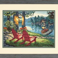 Dimensions Needlecrafts Counted Cross Stitch, Twilight's Calm