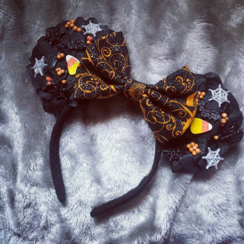 Disney Mickey's Halloween party inspired mouse ears