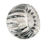 VdB Alberto Precious Fluted Glass Knob Drawer Pull Cabinet Hardware Handle