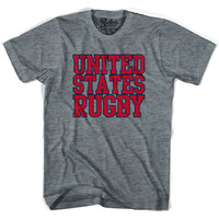 United States (Red Version) Rugby Nations T-shirt