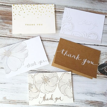ADD ON ITEM - Thank You Cards