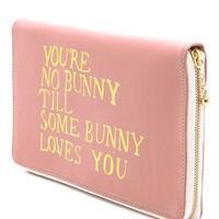 Paris House You're No Bunny Travel Wallet | SHOPBOP