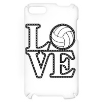 Love Volleyball iPod Touch Case