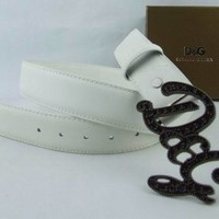 CK Men and Woman  Fashion Smooth Buckle Leather Belt