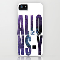 Doctor Who Allons-y iPhone & iPod Case by Dan Lebrun