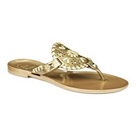 Junior's Miss Georgica Jelly Sandal in Gold by Jack Rogers