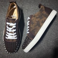 DCCK2 Cl Christian Louboutin Style #2026 Sneakers Fashion Shoes