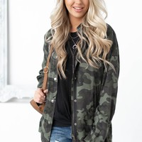Brandy Dear John Camo Jacket