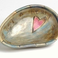 Decorative Religious Wooden Bowl - Made Of Wood