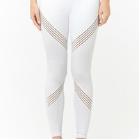 Active Striped Panel Leggings