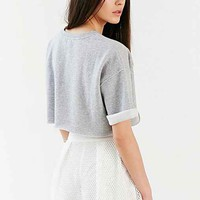 BDG Andy Super Cropped Top- Grey