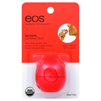 Eos Products Lip Balm - Smooth Sphere - Organic - Summer Fruit - .25 Oz - Case Of 6