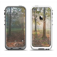 The Vivia Colored Sunny Forrest Apple iPhone 5-5s LifeProof Fre Case Skin Set