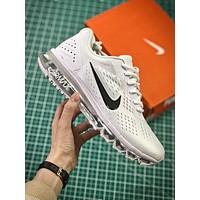 Nike Air Max 2019 Simple White Sport Running Shoes-1