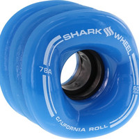 Shark California Roll 60mm 78a Blue Longboard Wheels