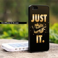 Nike 50 - Just Do It Photo On Hard Cover For IPhone 4/4Scase
