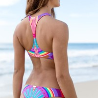 Mara Hoffman - Reversible Brazilian Bottom / Rainbow