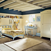 Solid wood bedroom set English Mood Collection by Minacciolo