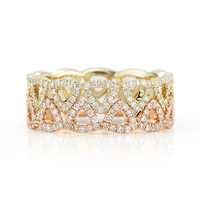 Emily Sarah Eternity Band : Dana Rebecca Designs