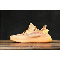 Adidas Yeezy 350 V3 Boost Clay Running Shoes