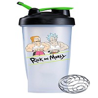 Rick and Morty - Ricks Gym 28 oz Blender Bottle