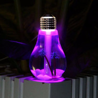 LED Lamp Air Ultrasonic Humidifier for Home Essential Oil Diffuser Atomizer Mist Maker with LED Night Light