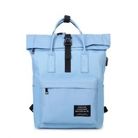 New Women External USB Charge Backpack Canvas Girls Laptop Backpack School Bags Backpack