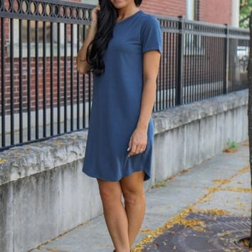 From This Moment Dress - Denim