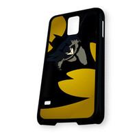 Batman Flying Batman Logo Samsung Galaxy S5 Case