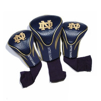 University of Notre Dame 3 Pack Golf Contour Sock Headcovers