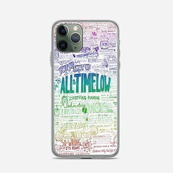 All Time Low iPhone 11 Pro Max Case