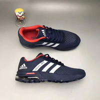 """""""Adidas"""" Fashion Casual Knit Fly Line Surface Men Air Cushion Sneakers Running Shoes"""