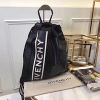 DCCK Givenchy Paris Fashion Women Men Gb39616 Givenchy Logo Backpack