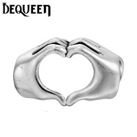 Fit Pandora Bracelet New Silver Charms European Love Heart Charm Beads Berloque Charms
