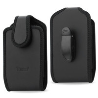 Reiko Vertical Pouch with 360Degree Rotate belt clip