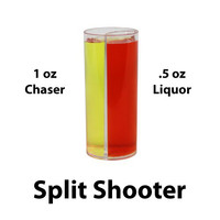 SPLIT SHOOTER - SPLIT SHOT GLASS