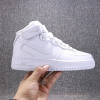 Nike Air Force 1 07 High White Sneakers - Best Deal Online