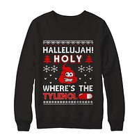 Hallelujah Holy Where's The Christmas Ugly Sweater