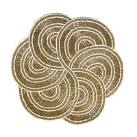 Beaded Sequin Spring Easter Place mat Charger