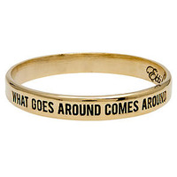 Ettika The What Goes Around Comes Around Bangle in Gold : Karmaloop.com - Global Concrete Culture