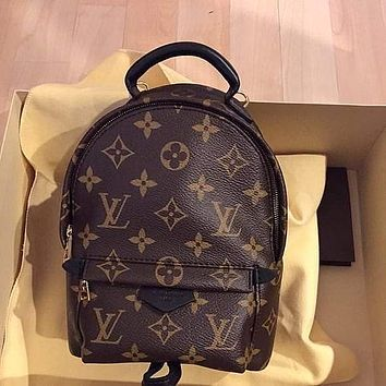 Louis Vuitton LV Palm Spring Monogram Backpack Shoulder Bag