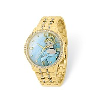 Disney Ladies Cinderella Gold-tone Bracelet Watch