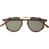 Garrett Leight California Optical Hampton Detachable-Front Acetate Glasses | MR PORTER