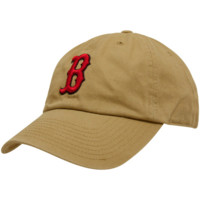 47 Brand Boston Red Sox Khaki Cleanup Adjustable Hat
