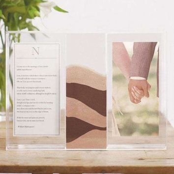 """""""Clearly Love"""" Sand Ceremony Shadow Box (Pack of 1)"""
