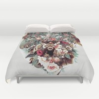 Deer Duvet Cover by RIZA PEKER