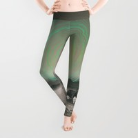 Spinning Out of Nothingness Leggings by Soaring Anchor Designs | Society6