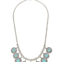 Lucky Brand Collar Necklace Womens - Silver (One Size)