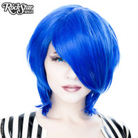Cosplay Wigs USA™  Boy Cut Long - Linden Royal Blue -00451